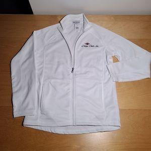 New Disney cruise line women white fleece Jacket